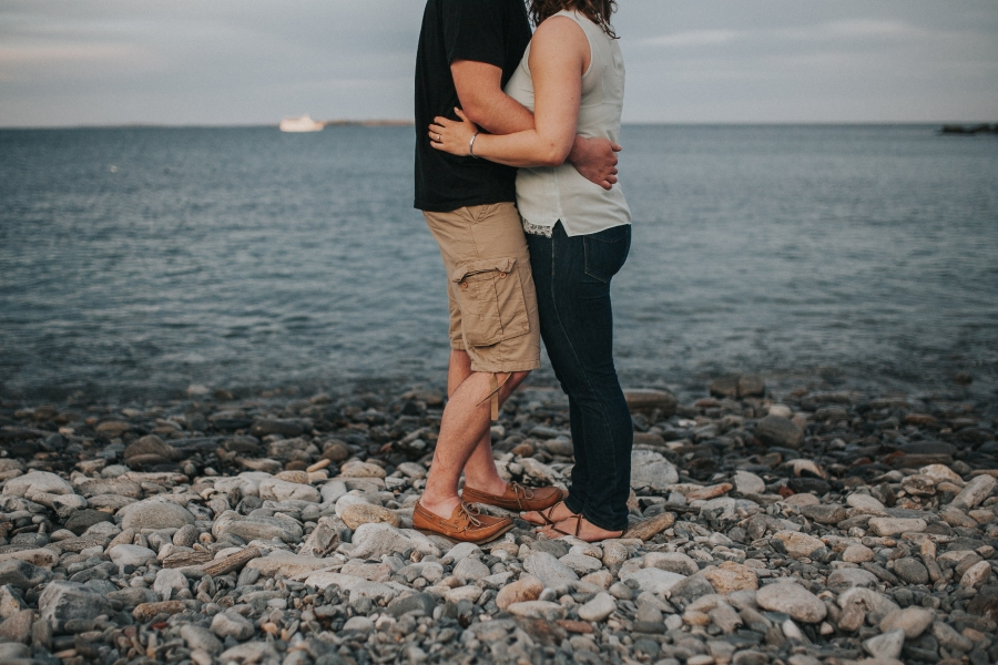 Josh and Sarah's Cape Elizabeth Engagement Session