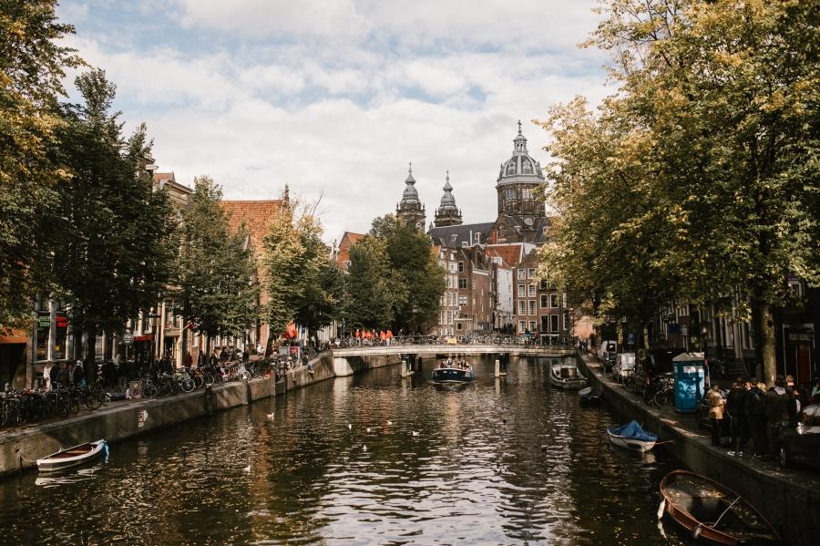 Amsterdam & A DairyFarm