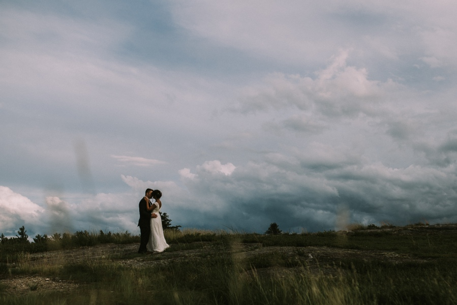 Annah and Tyler's New Hampshire Mountaintop FarmWedding